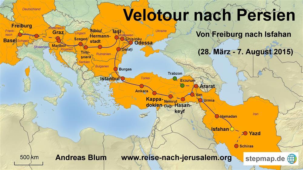2015 - Von Freiburg nach Isfahan